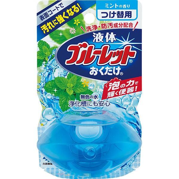 【消臭】液体ブルーレットおくだけ つけ替用 ミントの香り 70mL